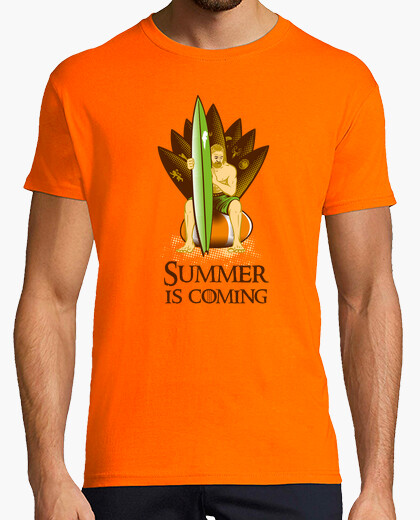 T-shirt game of thrones: Summer is coming #2