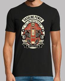 t-shirt garage biker lifestyle rocker vintage