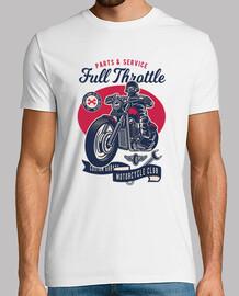 t-shirt garage bikers lifestyle vintage custom