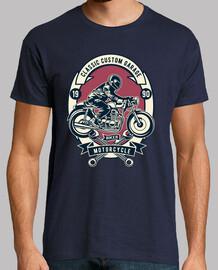 t-shirt garage bikers lifestyle vintage custom 1990