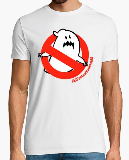 Tee-shirt t-shirt garçon le fantôme d'em