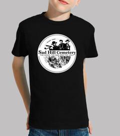 t-shirt garçon manches courtes logo sad hill