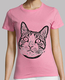 t-shirt gatto