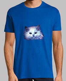 T-shirt 'Gatto bianco glitter'