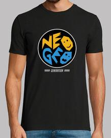 t-shirt generazione neogeo - cerchio