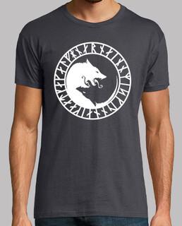 t-shirt geri & freki