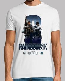 t-shirt ghiaccio nero