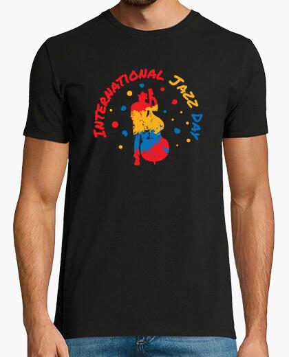 T-shirt giorno jazz internazionale