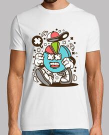 t-shirt giovanile grafica divertente