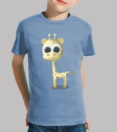 t-shirt giraffe kind-mehrere farben