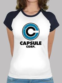 t-shirt girl capsule corp