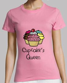 t-shirt girl queen of cupcakes