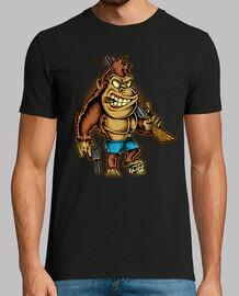 t-shirt gorille gorilles humeur jungle