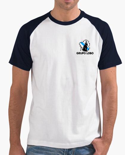 T-shirt gruppo lupo.