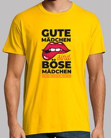 t-shirt gute mädchen sind böse mädchen - die ni