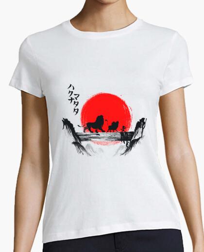 T-shirt haikuna matata con