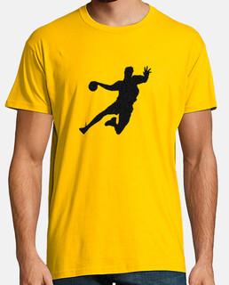 t-shirt handball uomo disegno 1