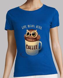 t-shirt hibou de nuit w