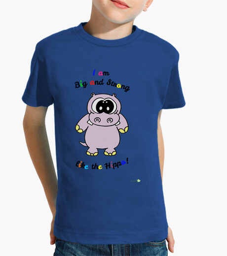 T-shirt hippo children's clothes