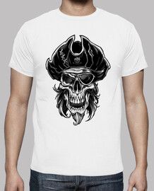 T-Shirt Homme - Pirate skull