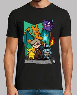 t-shirt homme fantastique - manches courtes