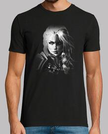 t-shirt homme jaina b & n