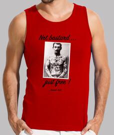 T-shirt homme sans manches, Rouge
