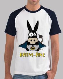 T-shirt homme style baseball Âne Batm-Âne, Superhéros, Comics