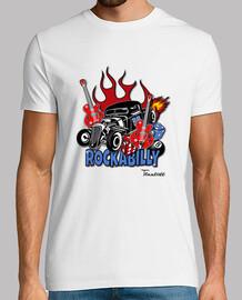 t-shirt hot rod - rockabilly vintage