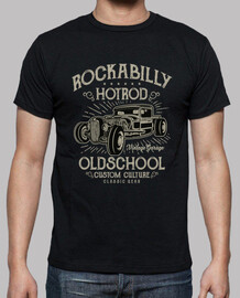 t-shirt hot rod - vintage - rockabilly