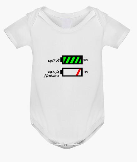Vêtements enfant T-shirt humour bébé