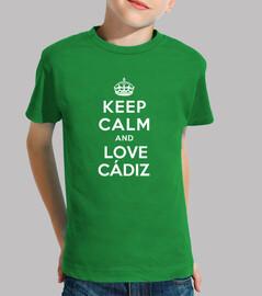 t-shirt i bambini amore cadice