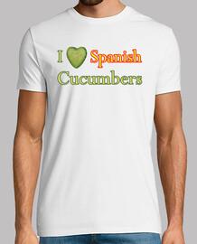 t-shirt i love spanish cetrioli