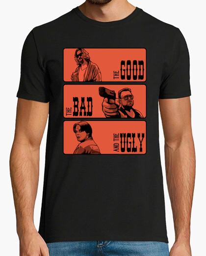 T-shirt il lebowski, il brutto e il cattivo