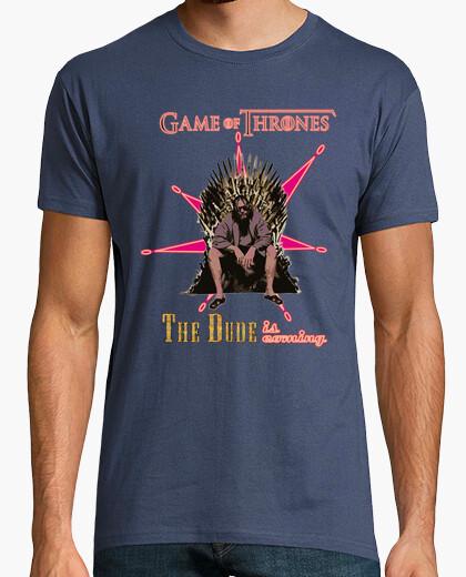 T-shirt il tizio sta coming (las vegas) - gioco of
