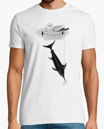 T-shirt il vecchio e il mare (ernest hemingway)