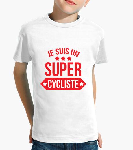 Abbigliamento bambino t-shirt in bicicletta - una moto - bicicletta - bmx