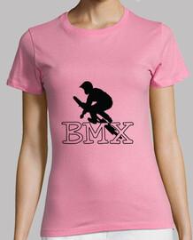 t-shirt in bicicletta - una moto - bicicletta - bmx