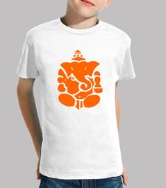 t-shirt indù bambini elefante