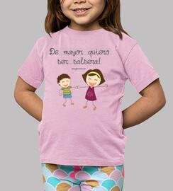 t-shirt infantile mayor coppie vogliono essere salsera