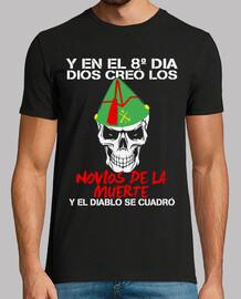 t-shirt innamorati morte mod.1