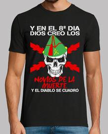 t-shirt innamorati morte mod.2