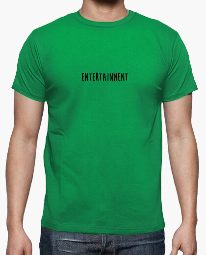 T-shirt intrattenimento nero