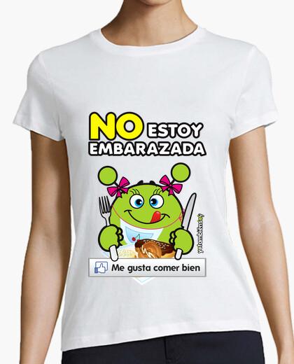 T-shirt io non sono incinta