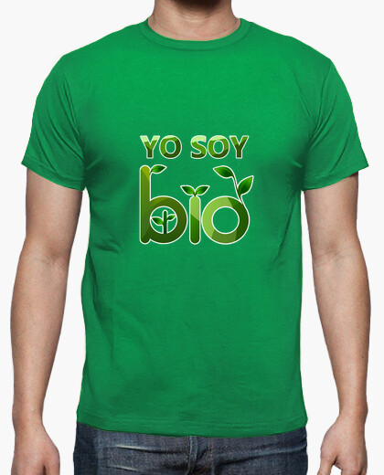 T-shirt io sono bio
