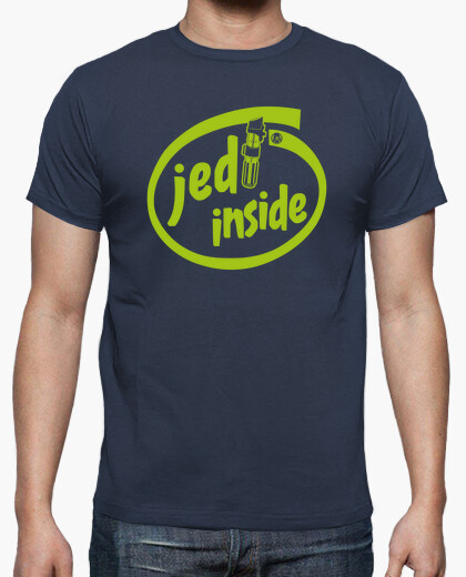 T-shirt jedi inside