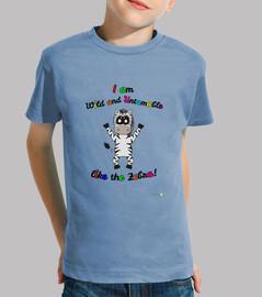 t-shirt kids zebra