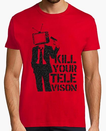 T-shirt kill tv kill televion