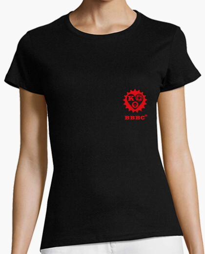 T-shirt king of hearts donna di colore