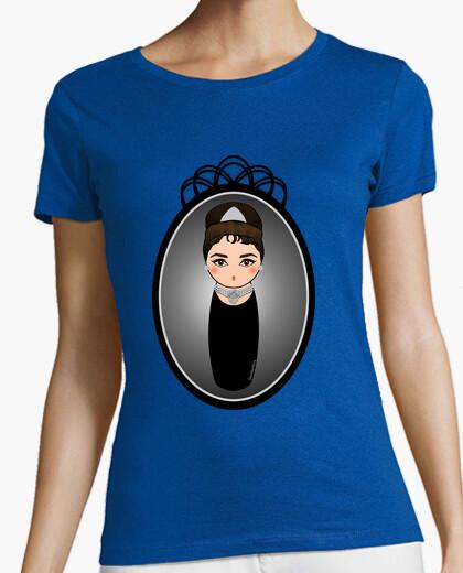 T-shirt kokeshi audrey hepburn